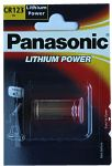 Panasonic CR123 (DL123A) Lithium Camera Battery